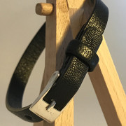 photo of a leather strap
