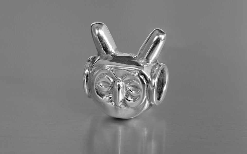 photo of owl bead